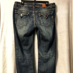 Vigoss Distressed Bootcut Jeans Size 13